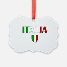 Italia Logo Ornament