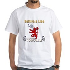 saltire and lion rampant football T-Shirt
