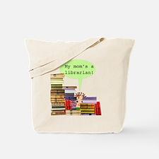 Librarian Mom Tote Bag