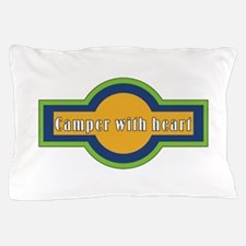Camper with heart Pillow Case
