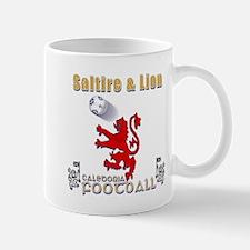 saltire and lion rampant football Mugs