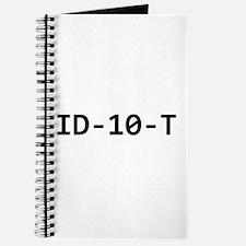 ID-10-T Journal