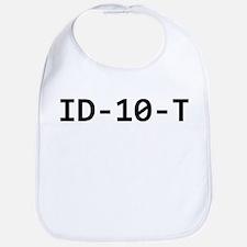 ID-10-T Bib