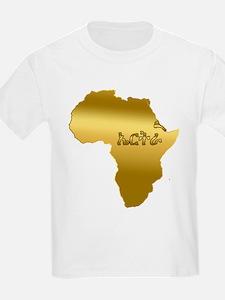 Eritrea in Tigrinya T-Shirt
