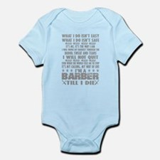 Barber Body Suit