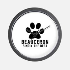 Beauceron Simply The Best Wall Clock