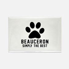 Beauceron Simply The Best Rectangle Magnet