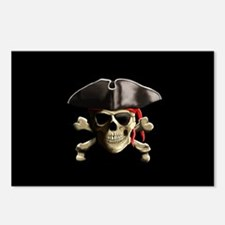 The Jolly Roger Pirate Skull Postcards (Package of