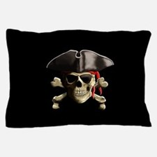 The Jolly Roger Pirate Skull Pillow Case