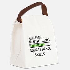Please wait, Installing Square da Canvas Lunch Bag