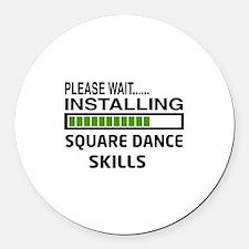 Please wait, Installing Square da Round Car Magnet