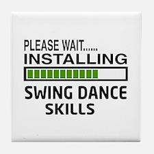 Please wait, Installing Swing dance s Tile Coaster