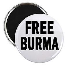 FREE BURMA (Myanmar) Magnet