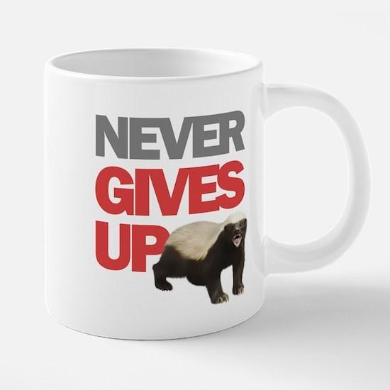 Honey Badger Don't Care Mugs