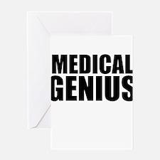 Medical Genius Greeting Cards