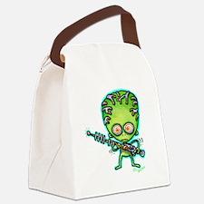 Cute Ufos Canvas Lunch Bag