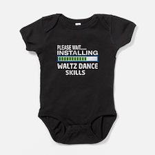 Please wait, Installing Waltz dance Baby Bodysuit