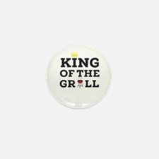 King of the grill Mini Button (100 pack)