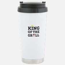King of the grill Stainless Steel Travel Mug