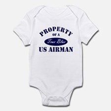 Property of a US Airman USAF Infant Bodysuit