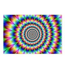 Optical Illusion 2 Postcards (Package of 8)