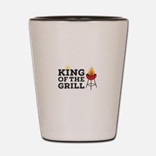 King of the grill Shot Glass