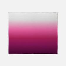 Cute Deep pink Throw Blanket