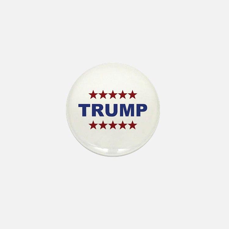 Donald Trump President 2016 Stars Mini Button