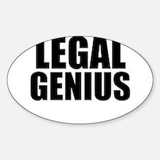 Legal Genius Decal