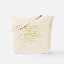 Unique Pray Tote Bag