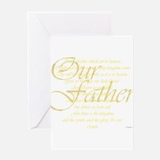 dk lords prayer.png Greeting Cards