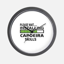 Please wait, Installing Capoeira skills Wall Clock