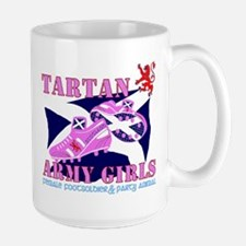 Scotland girls Tartan Army Mugs