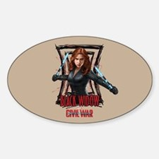 Black Widow Batons Decal