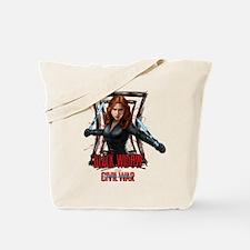 Black Widow Batons Tote Bag