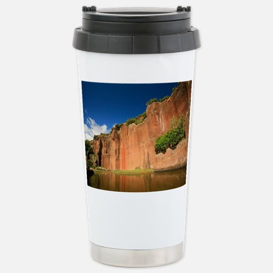 Big red rock Travel Mug