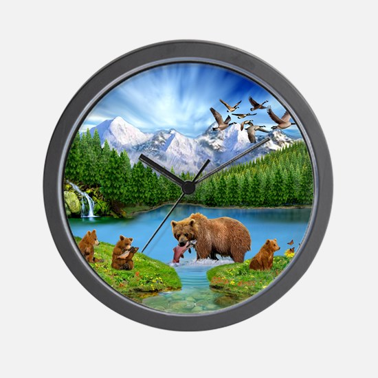 Great Bear Wilderness Wall Clock