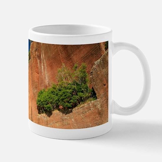 Big red rock Mugs