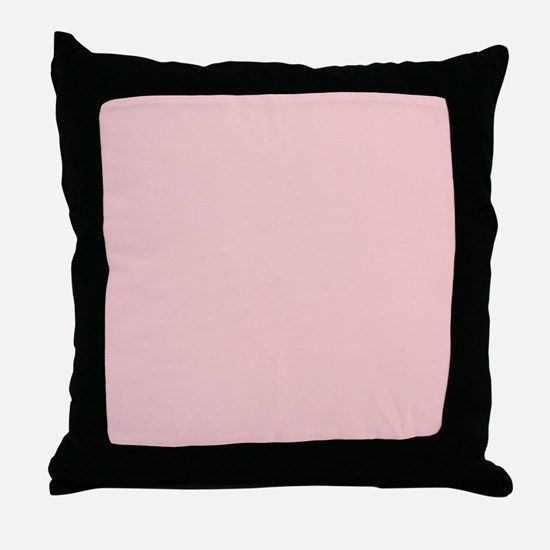 Unique Blush pink Throw Pillow