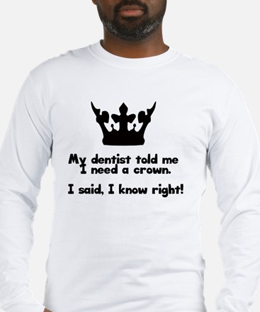 Unique Tooth Long Sleeve T-Shirt