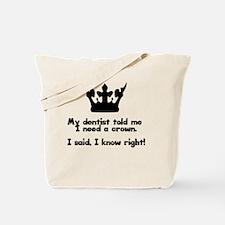Funny Funny dental Tote Bag