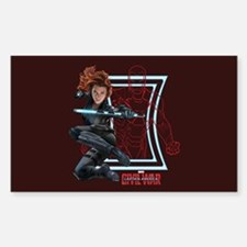 Black Widow & Iron Man Decal