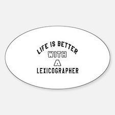 Lexicographer Designs Decal
