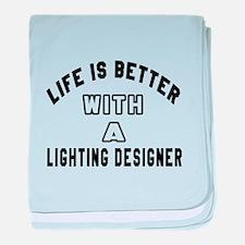 Lighting Designer Designs baby blanket
