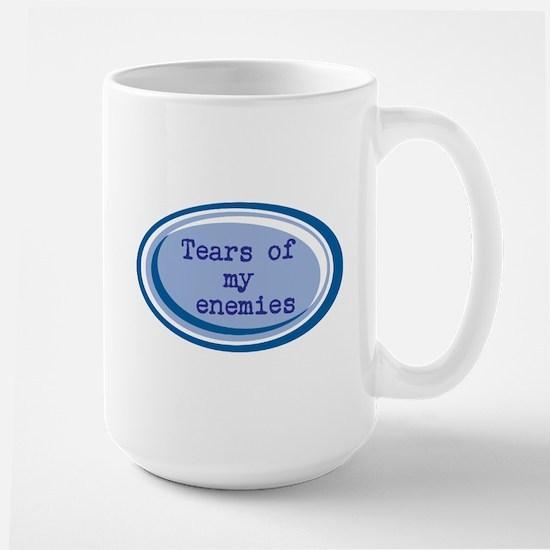 """Tears Of My Enemies"" Design Mug Mugs"