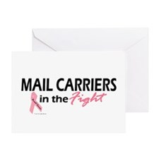 Mail Carriers In The Fight Greeting Card