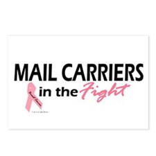 Mail Carriers In The Fight Postcards (Package of 8