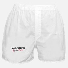 Mail Carriers In The Fight Boxer Shorts