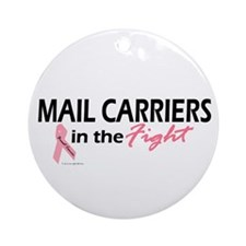 Mail Carriers In The Fight Ornament (Round)