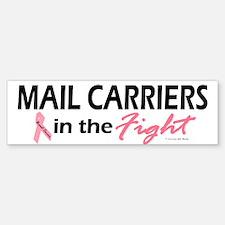 Mail Carriers In The Fight Bumper Bumper Bumper Sticker
